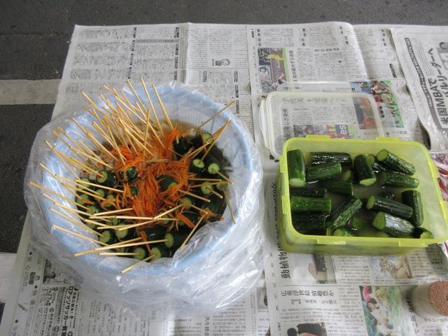 野菜の日19.8月浅漬け1